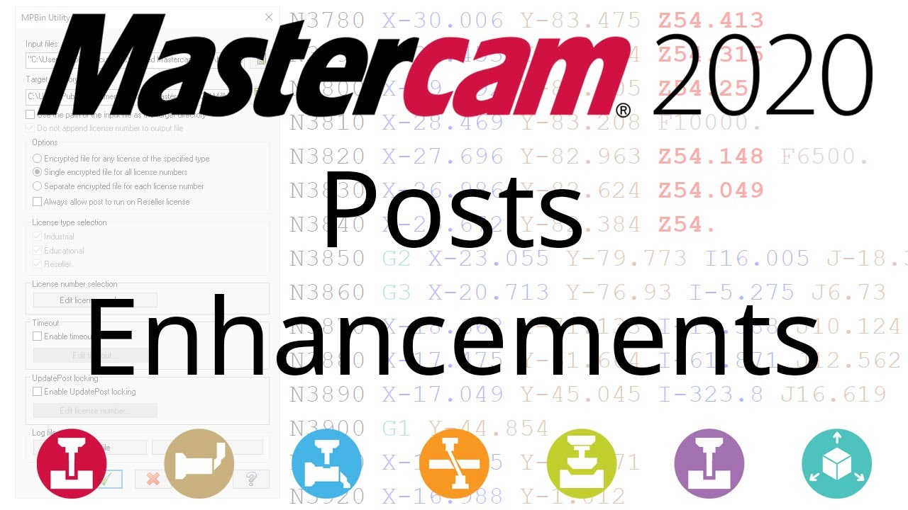 What's New in Mastercam 2020: Posts