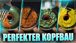 KOPFBAU in ALLEN ARTEN - Tabak / Steine / Paste / Zellstoff | Viel Rauch & Geschmack