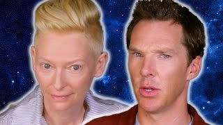 Benedict Cumberbatch & Tilda Swinton Ask Strange Questions