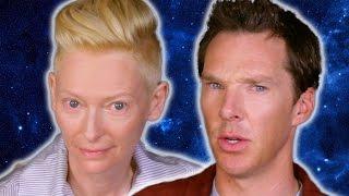 Benedict Cumberbatch & Tilda Swinton Ask Strange Questions