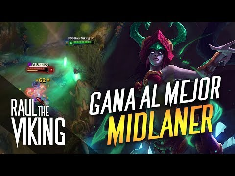 ¡GANA AL MEJOR MIDLANER!   Raúl The Viking • ᚱ