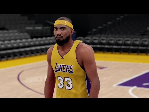 NBA 2K17|16 - Corey Brewer first Lakers Practice