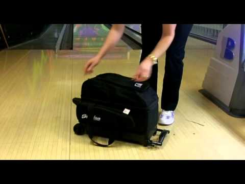 KR Strikeforce Eliminator Double Roller Bowling Bag Product Video by  Bowlerstore.com 691f41b61bf7a