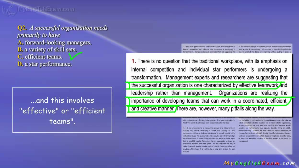 teamwork ielts reading tutorial multiple choice questions teamwork 1 ielts reading tutorial multiple choice questions