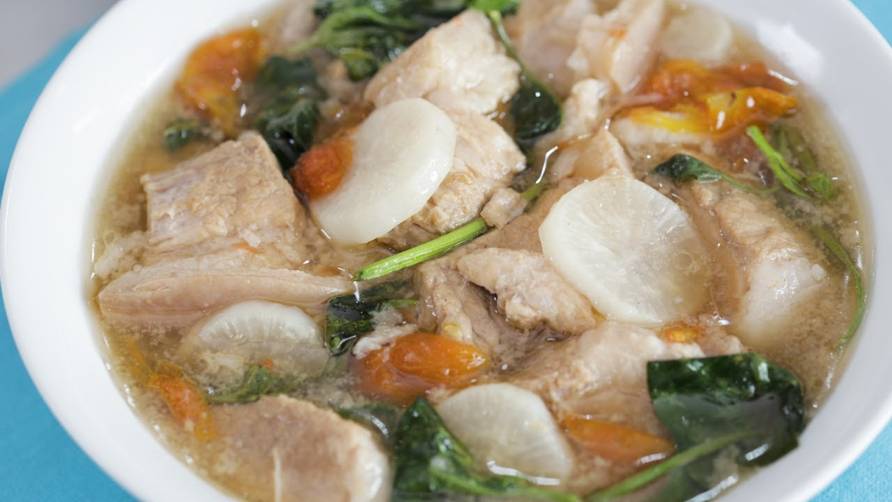 Sinigang Na Baboy Sa Miso Recipe Yummy Ph Youtube