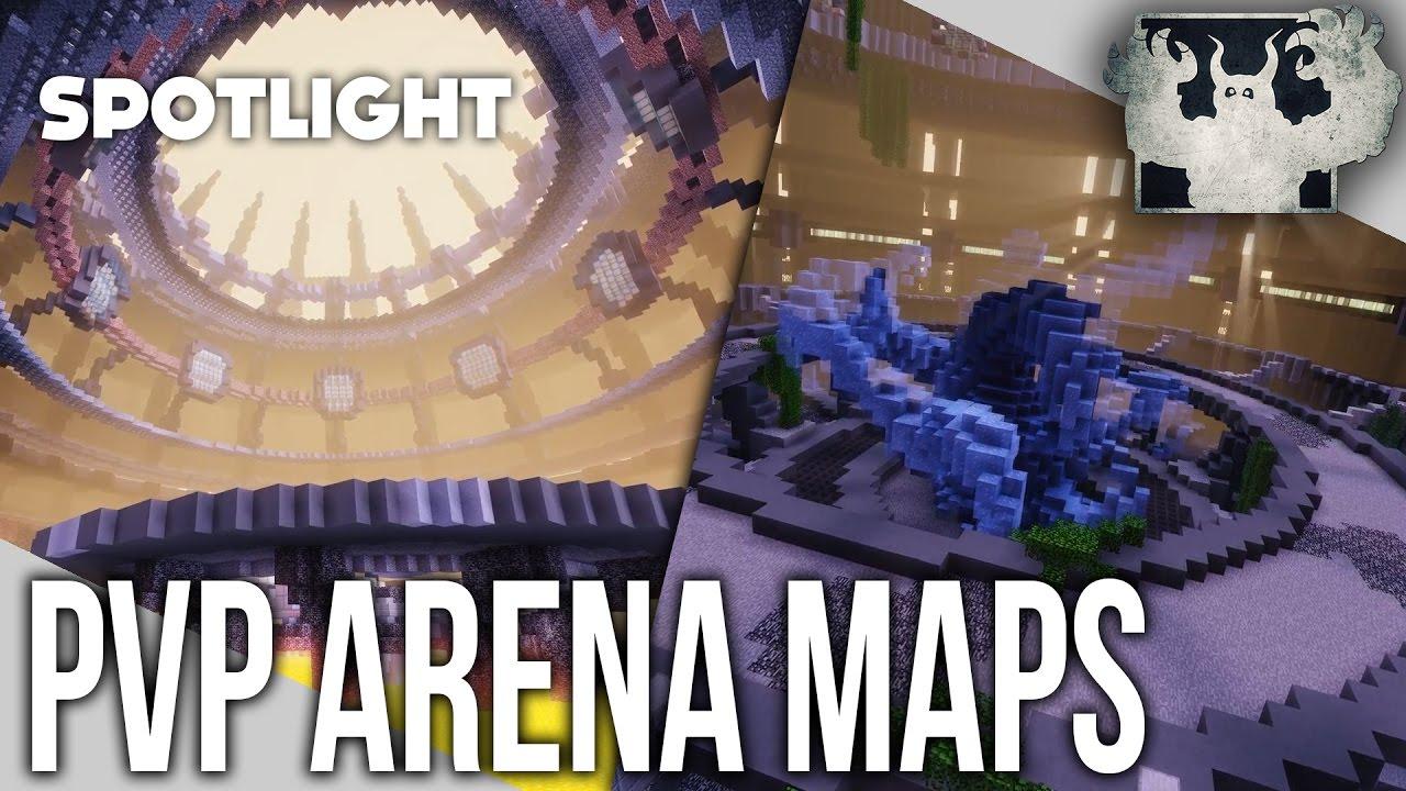 Minecraft PvP Arena Maps | Chunkfactory [Spotlight]