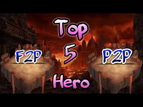 Top 5 Heroes Of Castle Clash | F2p And P2p | Which Is Ur Top 5 ? | Castle Clash