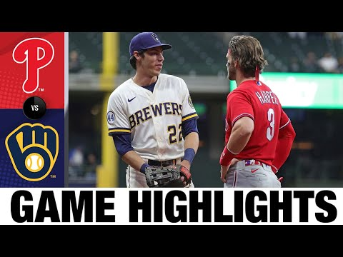 Download Phillies vs. Brewers Highlights (9/8/21)   MLB Highlights
