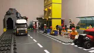 Lego City: An accident on the road