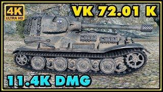World of Tanks | VK 72.01 (K) - 8 Kills - 11,4K Damage Gameplay