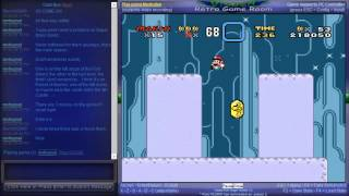 Super Mario All-Stars + Super Mario World - Netplay Session - Super Mario World (All Stars Version) - 96 Exits Playthrough - Part 1 - User video