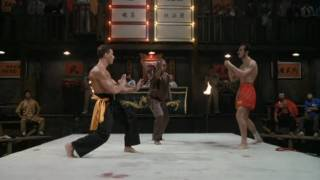 Blood Sport Semi Final (Van Damme VS. Muay Thai Master)
