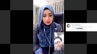 Nono Live Dibuka Beneran!! Sara Aqilahh 3- Amboyy Cantik Nye Gadis Ni Pakek Kerudung Bigo Malesya