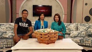 Khulan Chuluun on Mongolian TV talk show