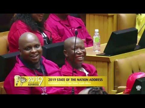 "Ramaphosa Will Sing To ""President"" Julius Malema"
