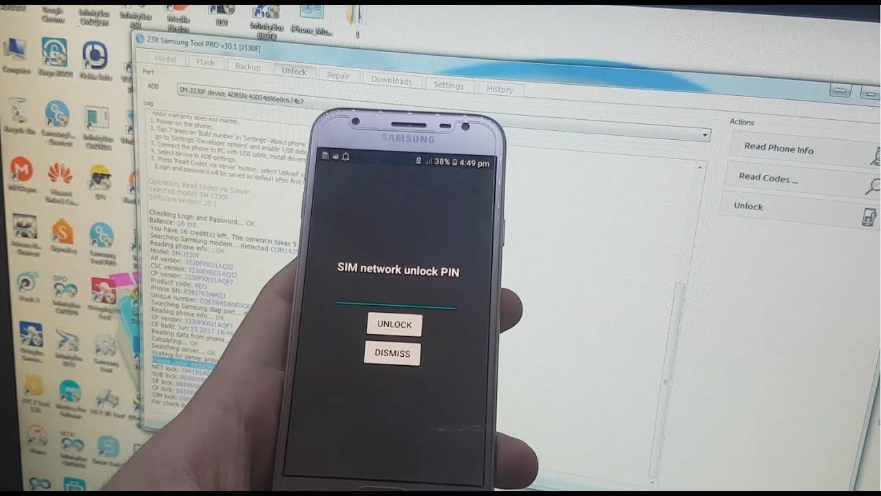 How To Unlock Network Lock SAMSUNG J3 J5 J7 2017