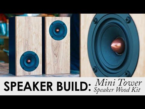 Mini Tower Desktop Speaker Kit | DIY Speaker Kit Build