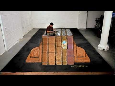 Anthony Cappetto: 'Education' 3D Chalk Art Intro