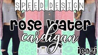 Rose Water Cardigan Speed Design || ROBLOX