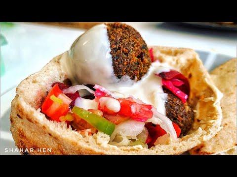 פודיק: פלאפל ביתי  🥙 מתכון קל ומושלם! HomeMade Falafel Recipe 🧆 קל וטעים - Foodik