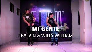 Mi Gente - J Balvin - ZUMBA - Flow Dance Fitness (mira esta coreografía desde tu computadora)