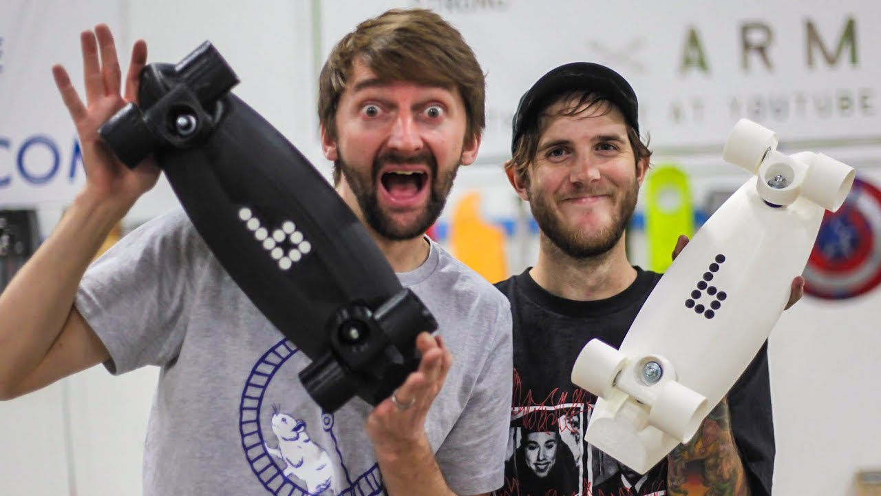 Don't Break the 3D printed boards! | You Make it We Skate it Ep 236