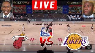 [LIVE] Los Angeles Lakers vs Miami Heat Game 5 | NBA Finals | Stephen A & Magic Johnson REACTION