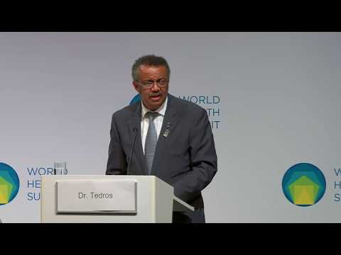 Health is a political choice - WHO Director-General Dr Tedros thumbnail