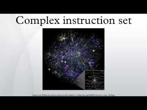 Complex instruction set computing