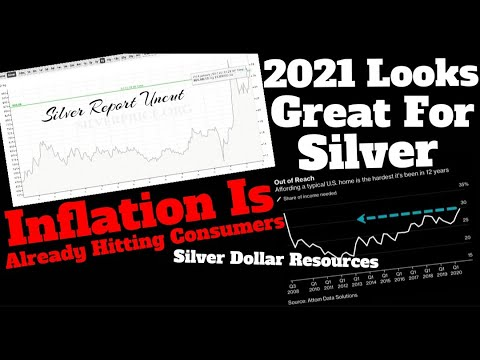 Silver To Soar In 2021, Money Printing, Housing Affordability,  Inflation, Silver Dollar Resources