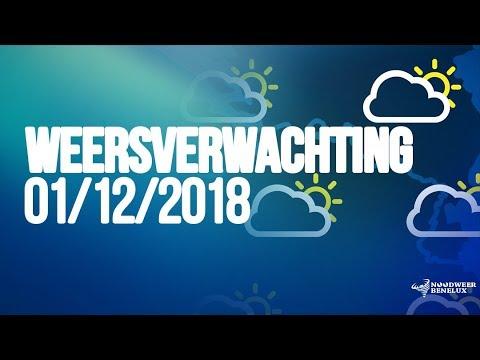 Weersverwachting 01/12/2018 - Zacht, nat en winderig herfstweer de komende dagen (NWBNLX)