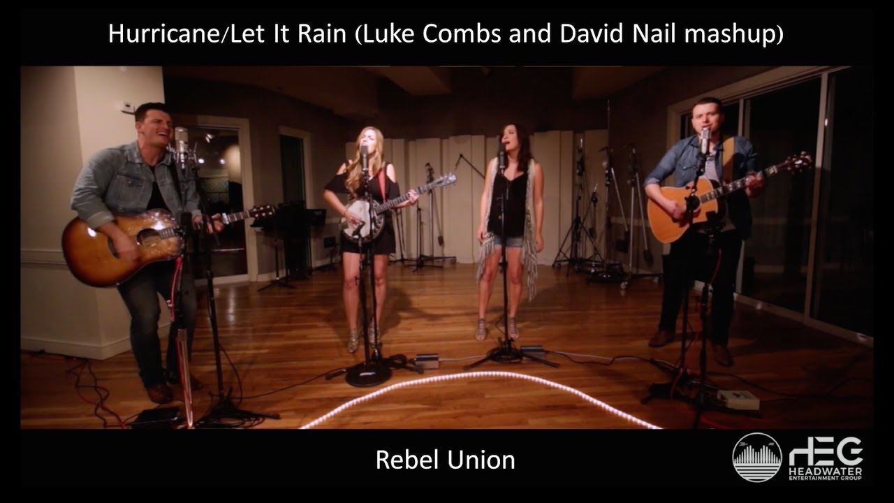 Hurricane (Luke Combs) & Let It Rain (David Nail) Cover Mashup ...