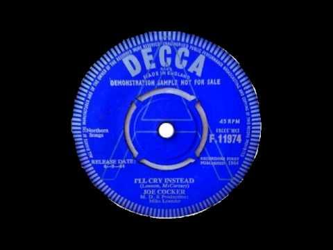 Joe Cocker - I'll Cry Instead - Beatles Cover - 1964  - POWERFUL ORIGINAL MONO MIX