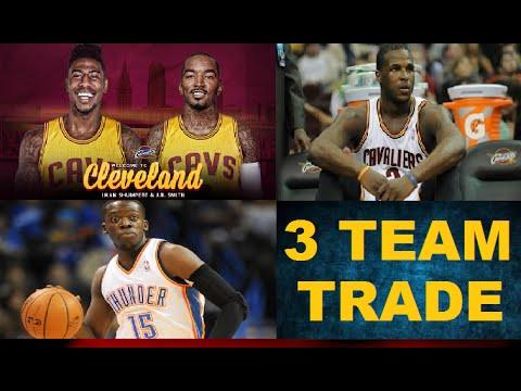 Cavaliers, Knicks & OKC Three Team Trade - JR Smith & Shumpert to Cleveland, Dion Waiters to OKC