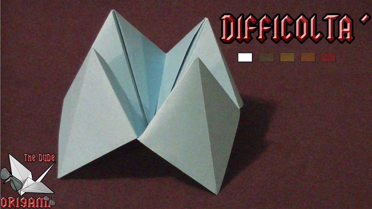 Origami ita paradiso e inferno origami per bambini o for Altalena con scivolo per bambini