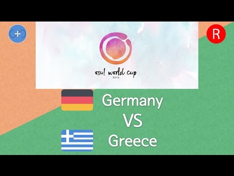 osu! World Cup 2016 Group Stage - Group D - Germany vs Greece