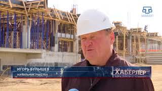 В п. Молодёжное-5 строится детский сад, предусмотрен газопровод и ремонт дорог