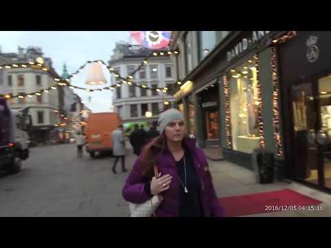 Walking in Oslo, Norway