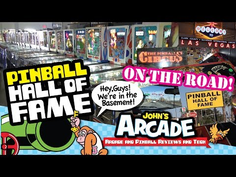 EPIC Las Vegas Pinball Hall of Fame Tour Review - PHOF Museum - Pinball Circus Review