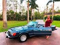 SOLD! 1982 Mercedes Benz 380SL R107 Roadster, only 34K Miles, for sale by Autohaus of Naples