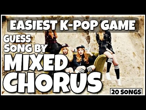 GUESS 2 KPOP SONGS MIXED TOGETHER | EASIEST KPOP GAME