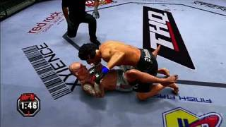 UFC Undisputed 2010 PlayStation 3 Gameplay - Big Left Hook