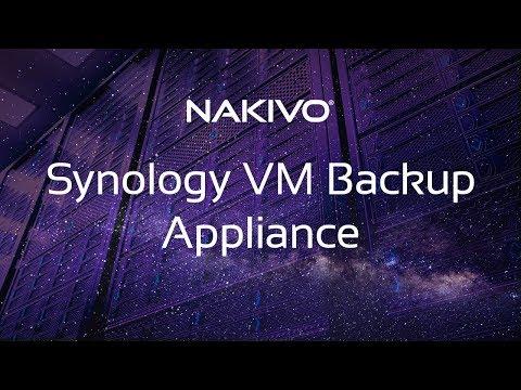 Synology NAS VM Backup Appliance - VMworld 2018 Award Winner