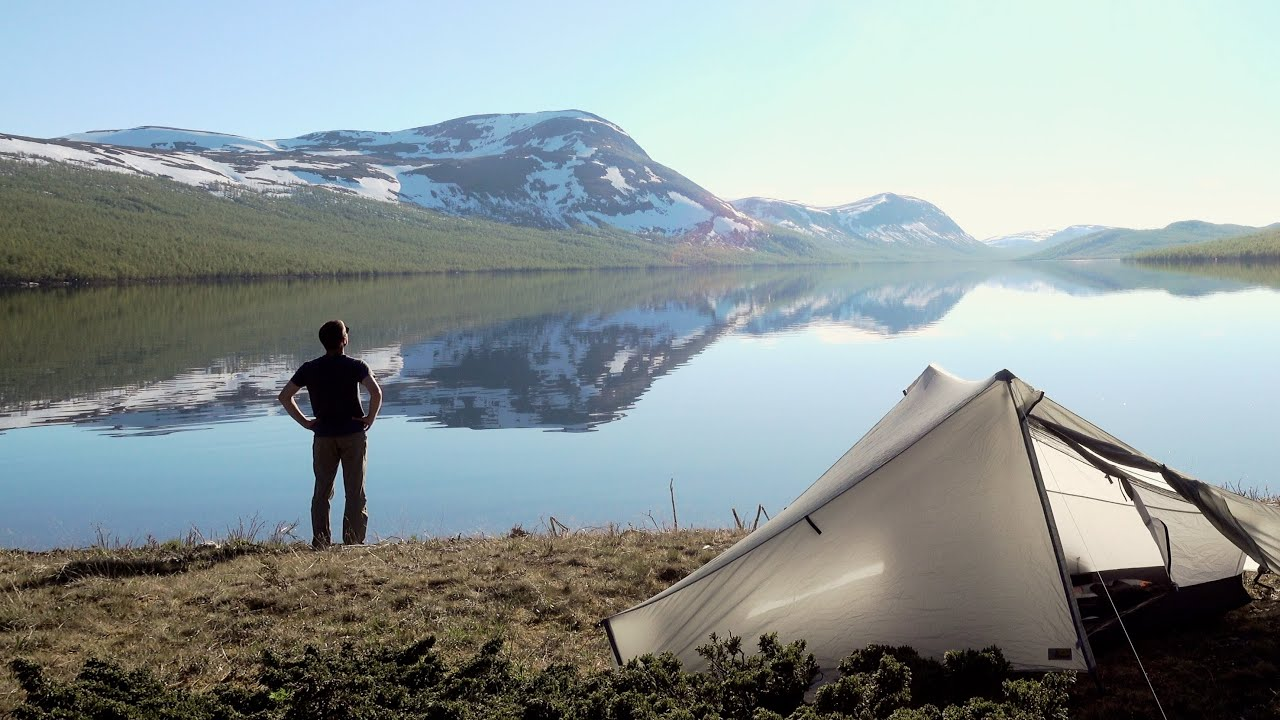 Solo Backpacking Four Days in the Scandinavian Mountains