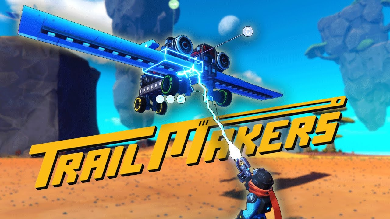Fun NEW Game, Trailmakers! Scrap Mechanic + Crossout!? Let's Play  Trailmakers Alpha