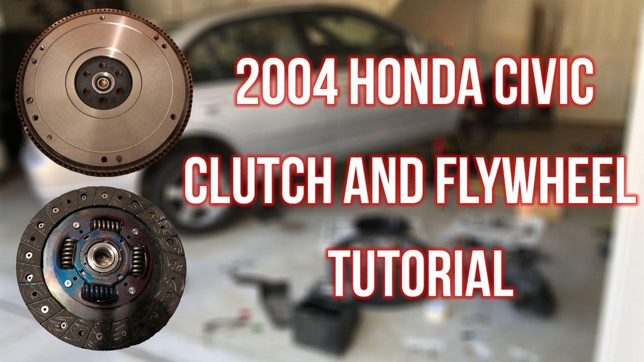 2004 Honda Civic Clutch Replacement