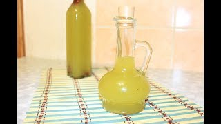 Оливковое масло с чесноком. Горячий способ.
