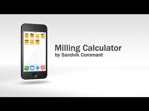 Sandvik Coromant Milling Calculator
