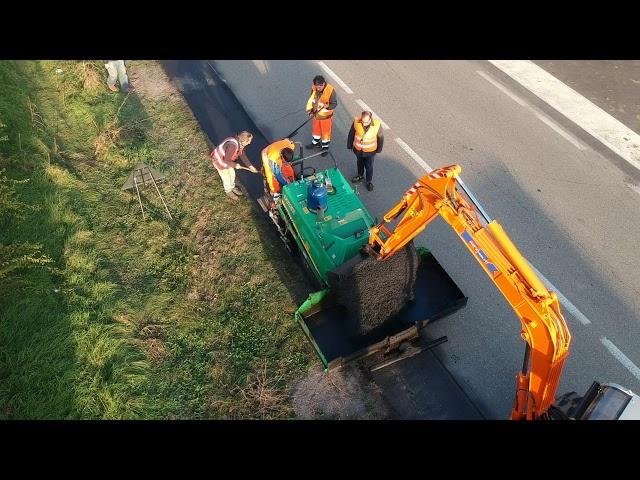 HANTA F14 - Dimostrazione stesa in Dairago, Italia