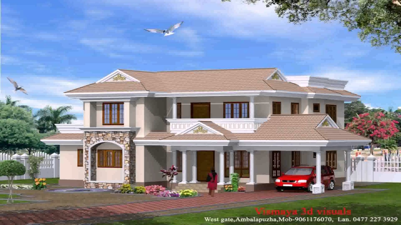 cool veedu plans at kerala model.  Kerala Style Small House Images YouTube